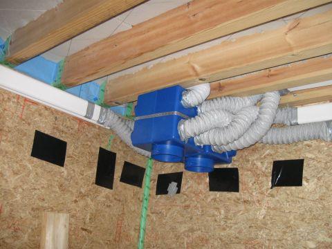 Installation de bouche Vmc par plombier ales